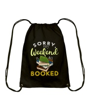 All My Weekend is Book Drawstring Bag thumbnail