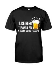 I Like Beer  Classic T-Shirt thumbnail