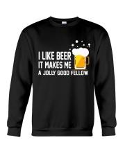 I Like Beer  Crewneck Sweatshirt thumbnail