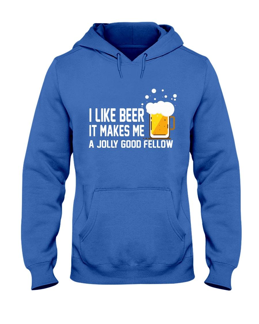 I Like Beer  Hooded Sweatshirt