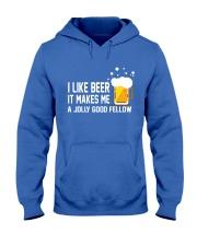 I Like Beer  Hooded Sweatshirt front