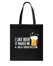 I Like Beer  Tote Bag thumbnail