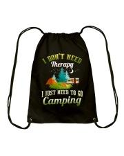 I just need to go camping  Drawstring Bag thumbnail