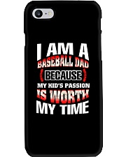 I AM A BASEBALL DAD Phone Case thumbnail