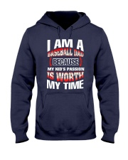 I AM A BASEBALL DAD Hooded Sweatshirt thumbnail