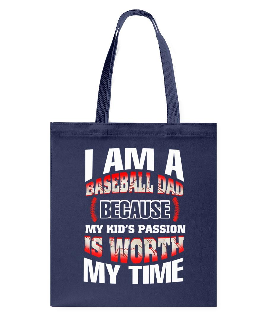 I AM A BASEBALL DAD Tote Bag
