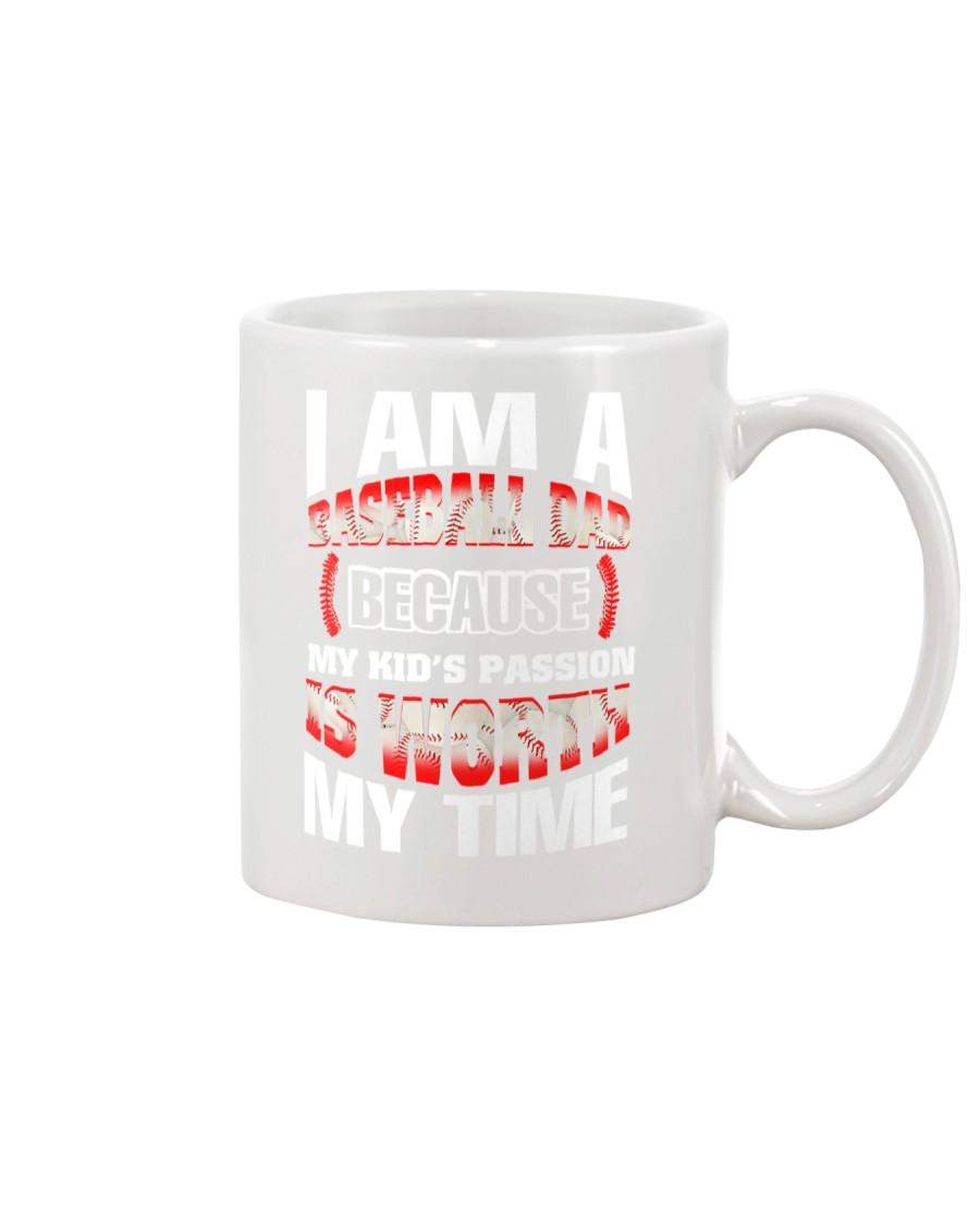 I AM A BASEBALL DAD Mug