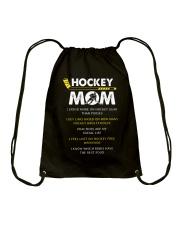 Hockey Mom Spend Drawstring Bag thumbnail