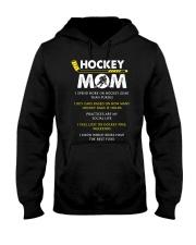 Hockey Mom Spend Hooded Sweatshirt front