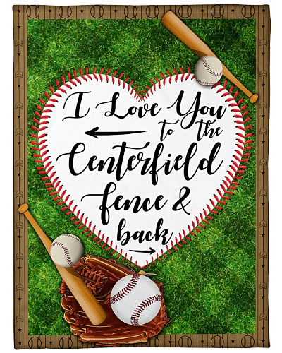 Baseball Love From The Centerfield Graphic Design