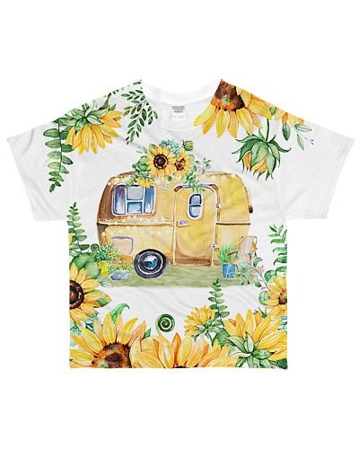 Camping 3D Sunflower