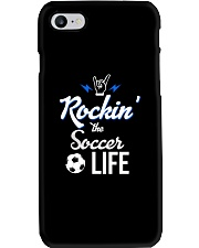 Rockin- The Soccer- Life Phone Case thumbnail