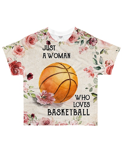 Basketball Just A Woman Flower