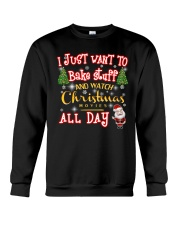 I just want to bake stuff Crewneck Sweatshirt thumbnail