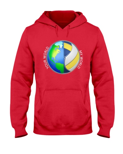 Volleyball Your World My World