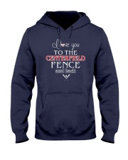 I Love You To The Centerfield Fence and Back Hooded Sweatshirt tile