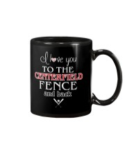 I Love You To The Centerfield Fence and Back Mug thumbnail