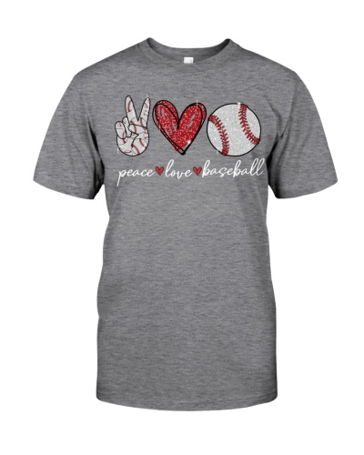 Baseball Peace Love