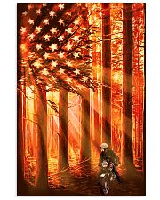 Motorcycle Flag 16x24 Poster front