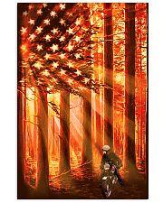 Motorcycle Flag 24x36 Poster thumbnail