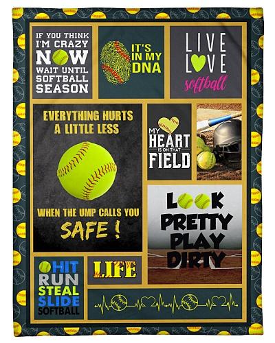 Softball Funny If U Think I'm Crazy Graphic Design