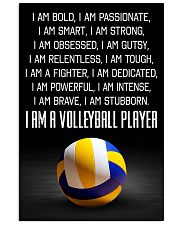 I'm A Volleyball Player 11x17 Poster front