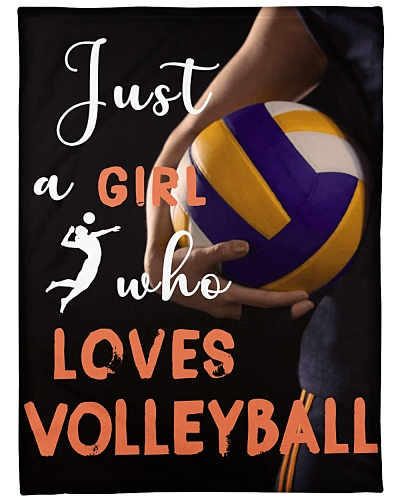 Volleyball Funny Just A Girl Graphic Design