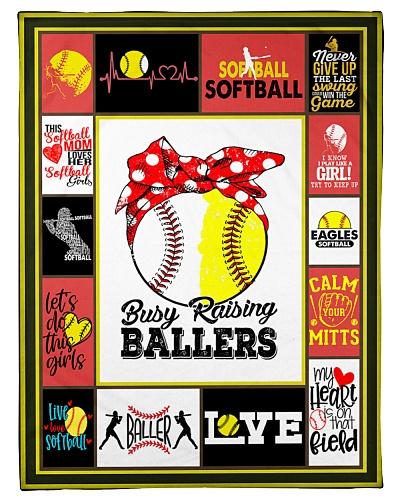 Softball Funny Busy Raising Ballers Graphic Design