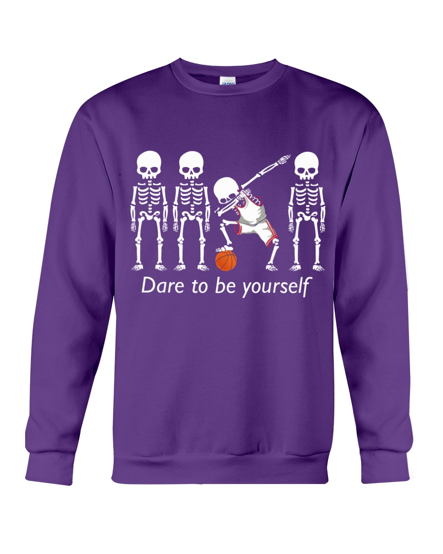 Basketball Dab Dare You Crewneck Sweatshirt