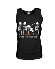 Basketball Dab Dare You Unisex Tank front