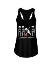 Basketball Dab Dare You Ladies Flowy Tank tile