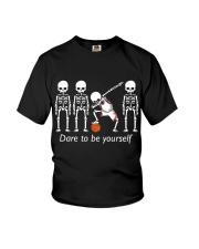Basketball Dab Dare You Youth T-Shirt thumbnail