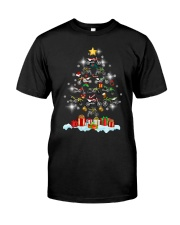 Motorcycle Christmas Classic T-Shirt thumbnail