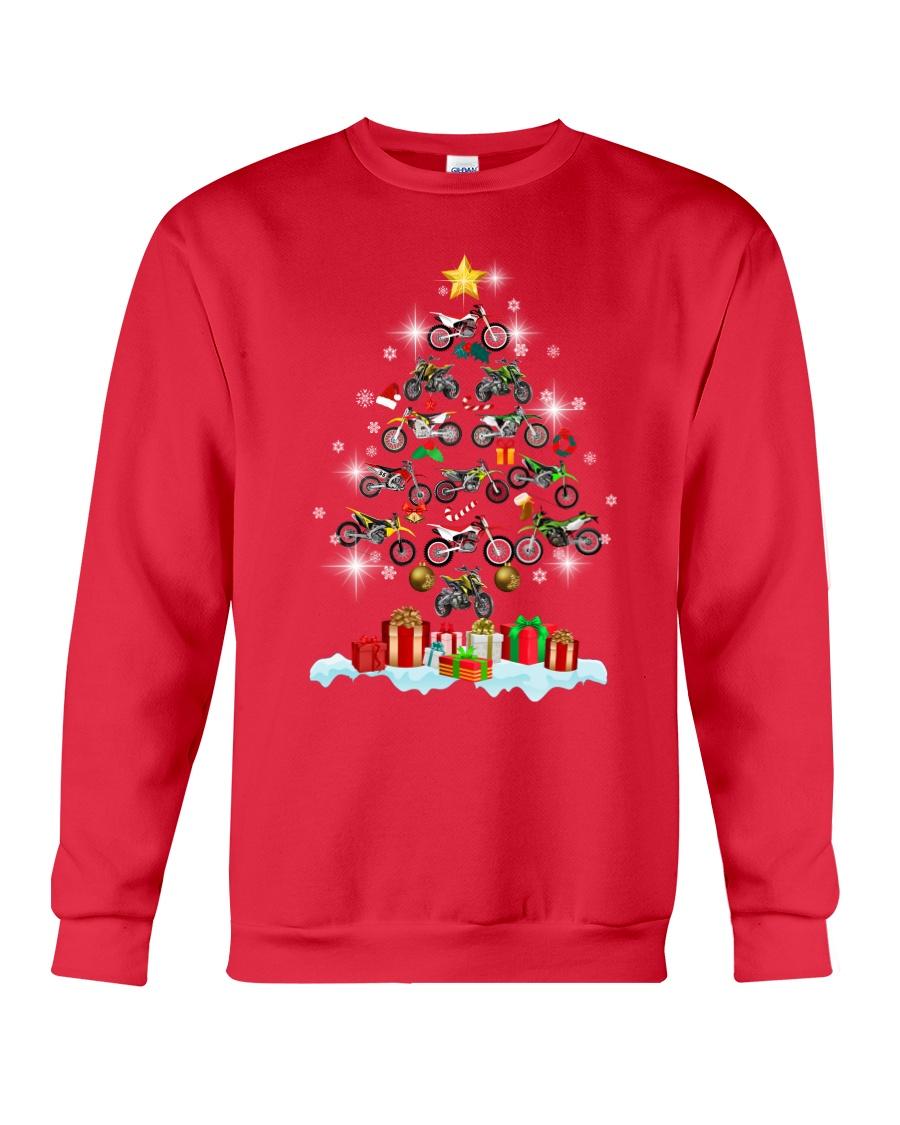 Motorcycle Christmas Crewneck Sweatshirt