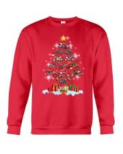 Motorcycle Christmas Crewneck Sweatshirt front