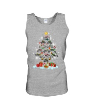 Motorcycle Christmas Unisex Tank front