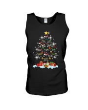 Motorcycle Christmas Unisex Tank tile