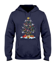 Motorcycle Christmas Hooded Sweatshirt thumbnail