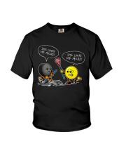 Hockey She Loves Me More Youth T-Shirt thumbnail