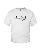 Hockey Hearbeat Youth T-Shirt thumbnail