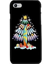 Surfing Christmas Tree  Phone Case thumbnail