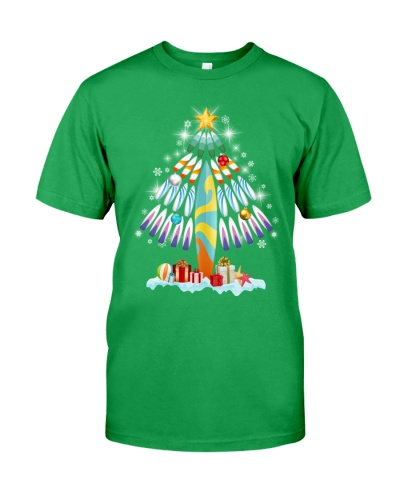 Surfing Christmas Tree