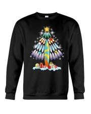 Surfing Christmas Tree  Crewneck Sweatshirt thumbnail