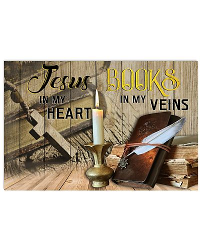 Books Jesus In My Heart Poster