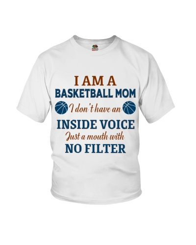 Basketball Mom I Dont Have An Inside Voice