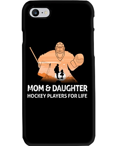 Hockey Mom And Daughter