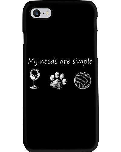 My Needs Are Simple Volleyball