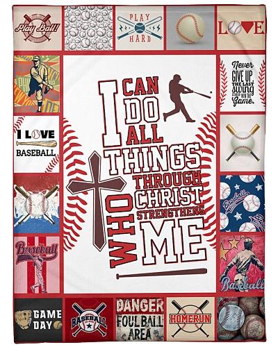 Baseball I Can Do All Things Through Christ