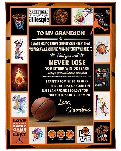 Basketball Funny To My Grandson Graphic Design