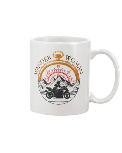 Motorcycle Wander Woman